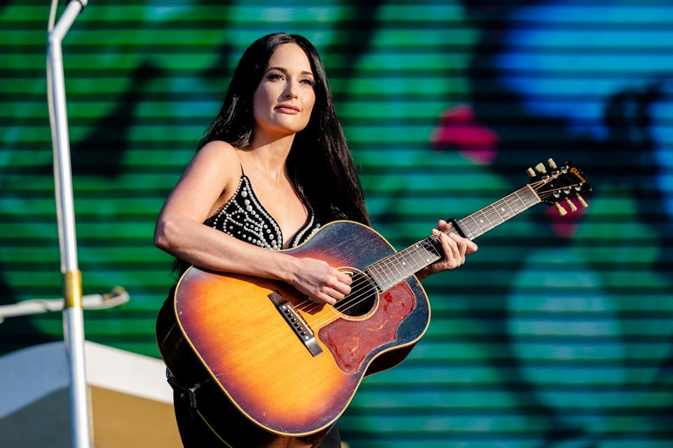 CHICAGO, ILLINOIS - AUGUST 04: Kacey Musgraves performs at the Lollapalooza Music Festival at Grant Park on August 04, 2019 in Chicago, Illinois. (Photo by Josh Brasted/FilmMagic)