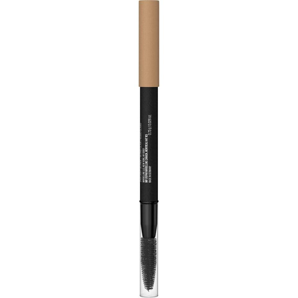 """<h2>Maybelline TattooStudio 36 HR Pigment Brow Pencil</h2><br>This isn't your average brow pencil: It's an advanced brow crayon for creating hair-like strokes that won't smudge or fade for hours. The formula has a cream-to-powder finish that'll leave your arches fuller and fluffier in no time.<br><br><strong>Maybelline New York</strong> Maybelline TattooStudio 36 HR Pigment Brow Pencil, $, available at <a href=""""https://go.skimresources.com/?id=30283X879131&url=https%3A%2F%2Fwww.walmart.com%2Fip%2FMaybelline-TattooStudio-Tattoo-Brow-36HR-Pigment-Brow-Pencil-Black-Brown-0-026-oz%2F953818889%3Fselected%3Dtrue"""" rel=""""nofollow noopener"""" target=""""_blank"""" data-ylk=""""slk:Walmart"""" class=""""link rapid-noclick-resp"""">Walmart</a>"""