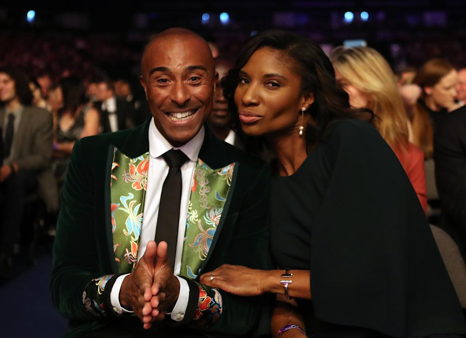 Zoom workouts with Colin Jackson has allowed Denise a chance to get her body into shape during lockdown (Photo by Jane Barlow/PA Images via Getty Images)