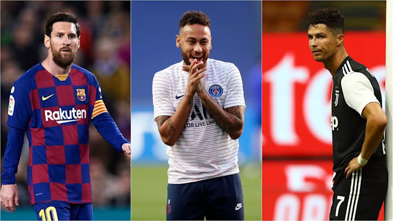 Neymar's agent suggests Messi and Ronaldo could join Brazil star at PSG