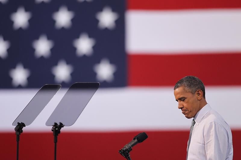 President Obama Campaigns In Las Vegas
