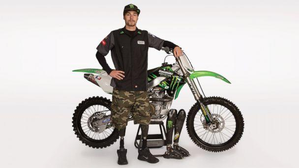 HT jesse williamson jef 140602 16x9 608 Wounded Warrior Poised to Make Motocross History on Prosthetics