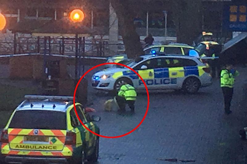 Police put a red bag inside a police evidence bag immediately after the nerve agent attack on a Russian spy. Officers previously issued CCTV of a woman clutching a red bag: Solent news
