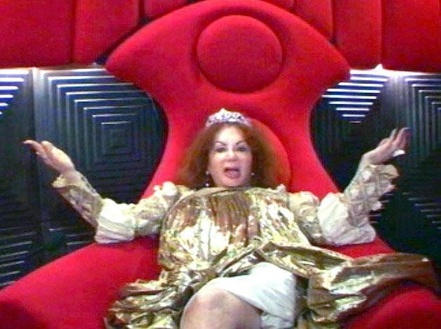We're sure everyone was surprised when Jackie Stallone arrived in the CBB house in the third series - especially her son Sly's ex girlfriend Brigitte Nielson. Jackie obviously didn't enjoy her time in there as she didn't even last a week