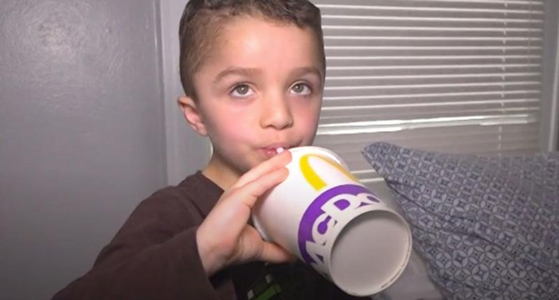 Iziah Hall called police in Michigan asking for McDonald's. Source: ABC 13