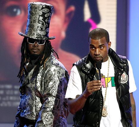 """T-Pain Won't Buy Kanye West Baby Gift Because West Has """"No Couth"""""""