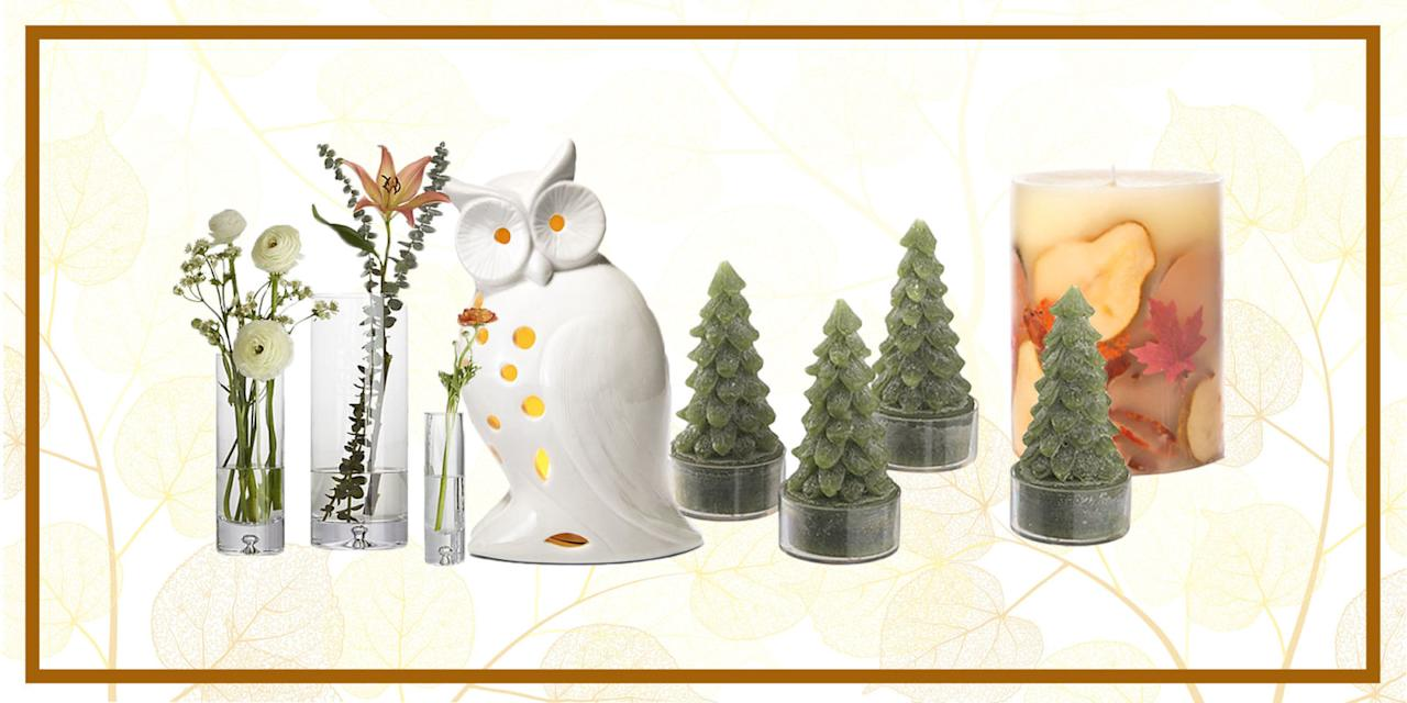 <p>Any of these charming items will quickly add a little holiday flair around your home and dinner table this year. </p>