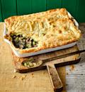 "<p>Hearty and satisfying, this vegan mushroom pie is ideal on a chilly night. Use peas if you can't find edamame beans.</p><p><strong>Recipe: <a href=""https://www.goodhousekeeping.com/uk/food/recipes/a25945240/vegan-mushroom-pie/"" rel=""nofollow noopener"" target=""_blank"" data-ylk=""slk:Vegan mushroom and kale pot pie"" class=""link rapid-noclick-resp"">Vegan mushroom and kale pot pie </a></strong></p>"