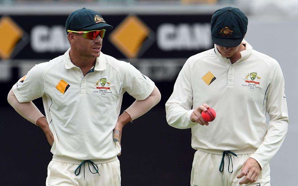 Steve Smith and David Warner. - GETTY IMAGES