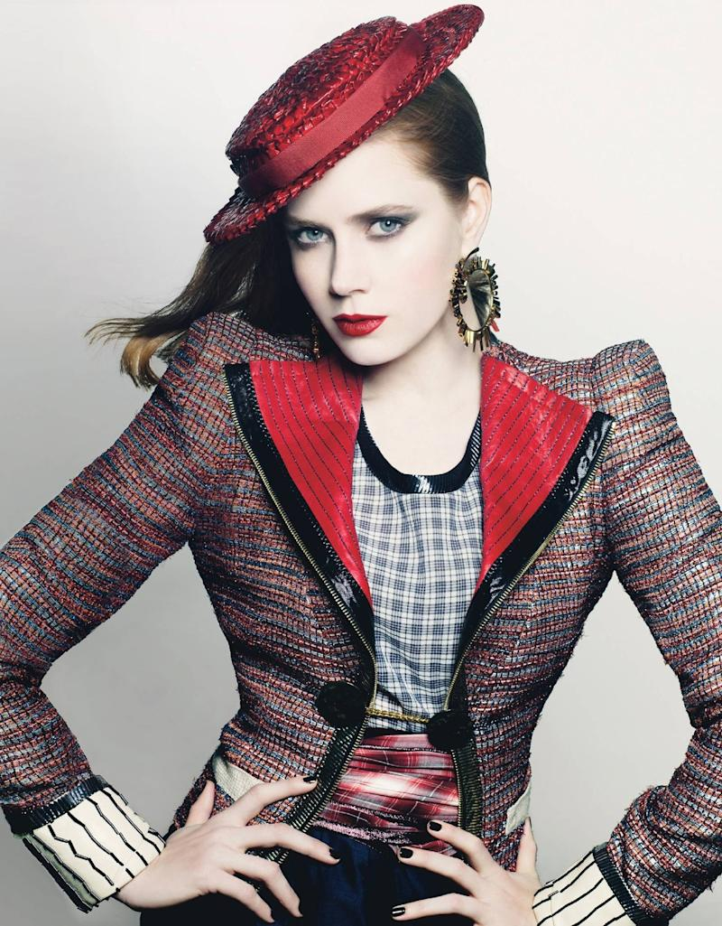 """""""I knew I was being paid less,"""" Amy Adams told Vanity Fair about her role in American Hustle."""