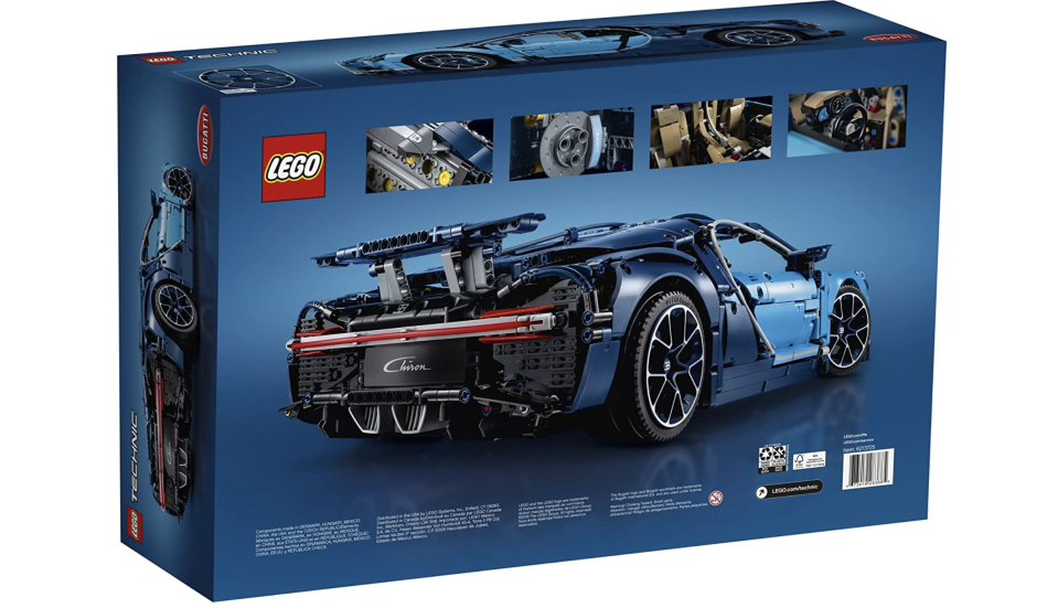 LEGO Technic, Bugatti Chiron. Foto: amazon.com.mx