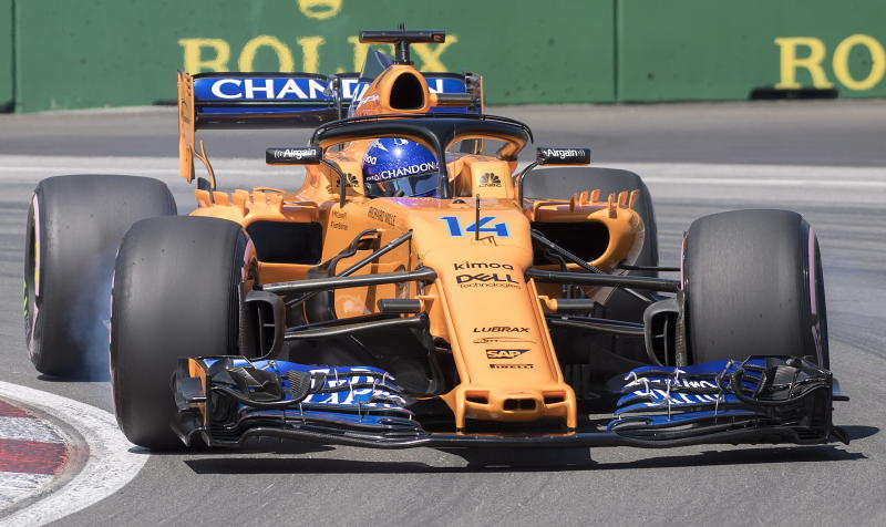 Fernando Alonso retires from Canadian GP, his 300th F1 race class=