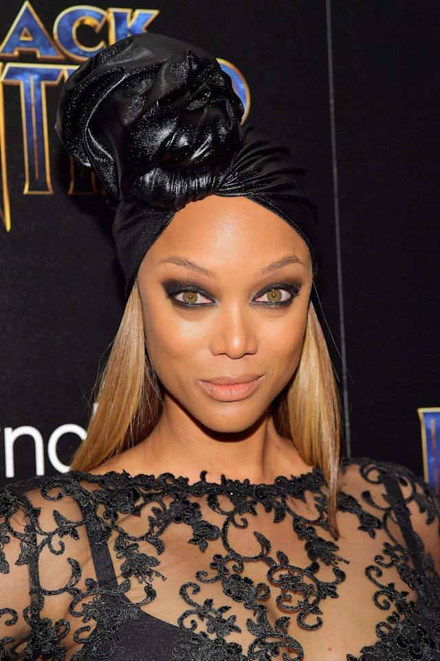 "Tyra Banks celebrates ""thick fellas."" (Photo: Roy Rochlin/Getty Images)"