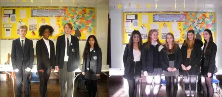 <i>Girls will be sent home if their skirt is too short [Photo: The West Bridgford School]</i>