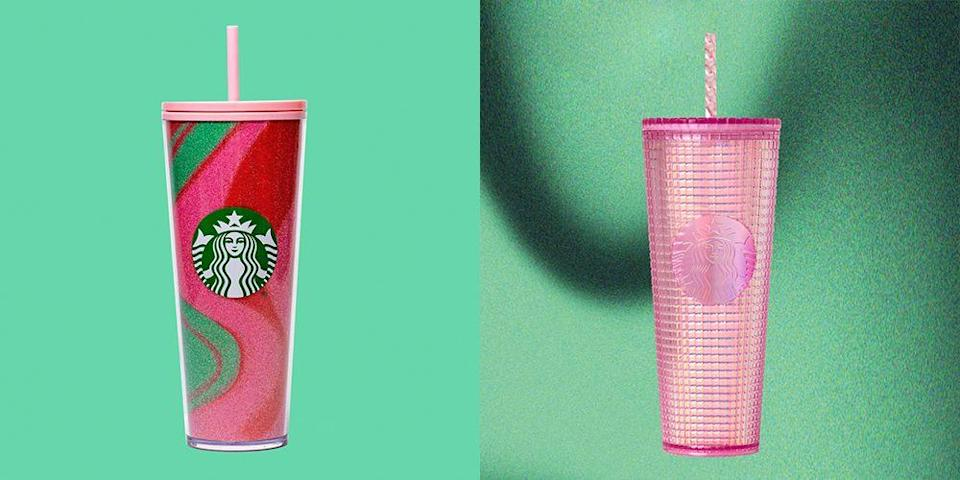 Starbucks' New Holiday Tumblers Are Packed With Sequins and Glitter