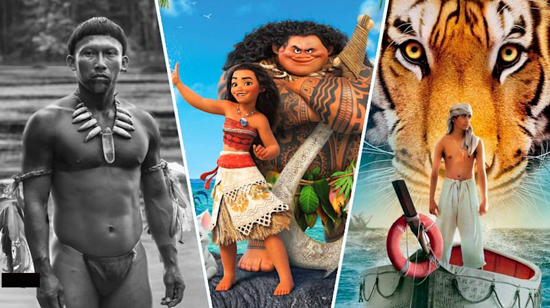 Embrace of the Serpent, Moana, The Life of Pi.