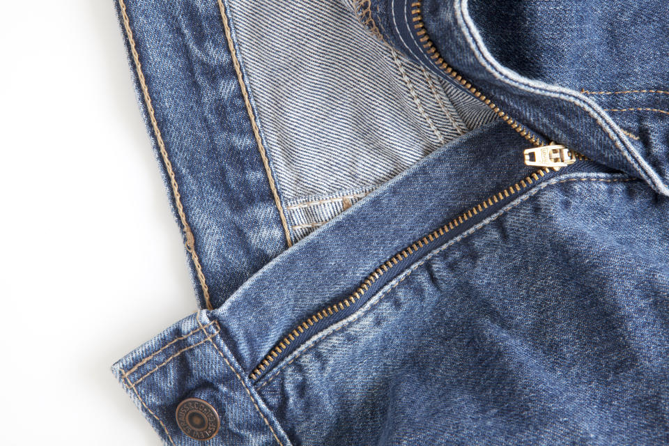 Dozens of Levi's styles are on sale at Amazon right now—zip on over! (Photo: Amazon)