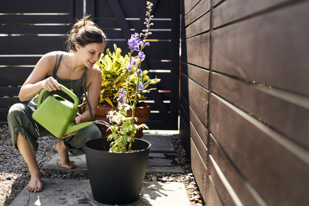 The University of Cambridge scientists recommend people stay active by gardening during the coronavirus lockdown. (Getty Images)