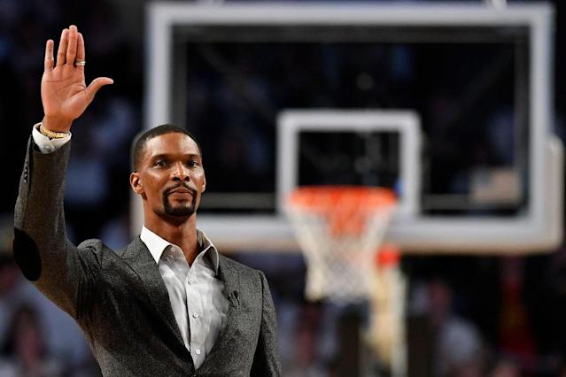 "Former <a class=""link rapid-noclick-resp"" href=""/nba/teams/mia"" data-ylk=""slk:Miami Heat"">Miami Heat</a> star Chris Bosh last played an NBA game in February 2016. (Getty Images)"