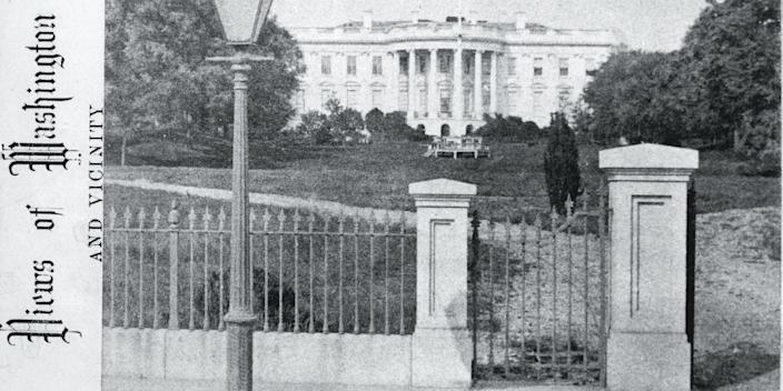 The White House South Lawn ca. 1872