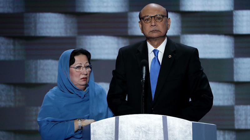 Khizr And Ghazala Khan Denounce Trump's 'Selfish And Divisive Actions'