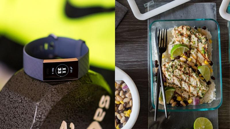 Best health and fitness gifts 2019: Fitbit Charge 3 & Pyrex Ultimate 10-piece food storage set