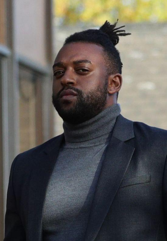 <strong>Former JLS star Oritse Williams, 31, arrives at Walsall Magistrates' Court, West Midlands on Thursday</strong> (Photo: PA)
