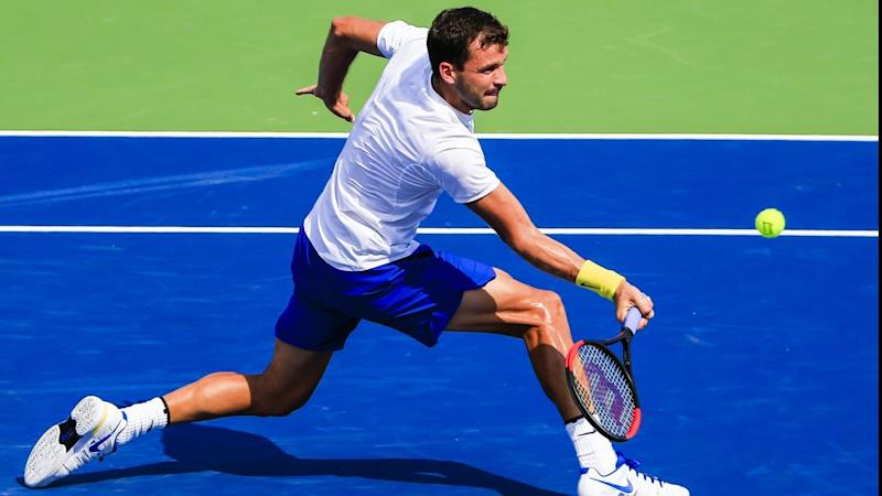 Grigor Dimitrov has beaten John Isner in the semi-finals of the Cincinnati Masters