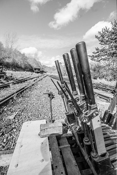 <p>A signalman helped manage multiple switches and levers by hand to ensure all trains were moving in the right direction. Once railways were computerized in the late '60s, signalmen got the caboose! </p>