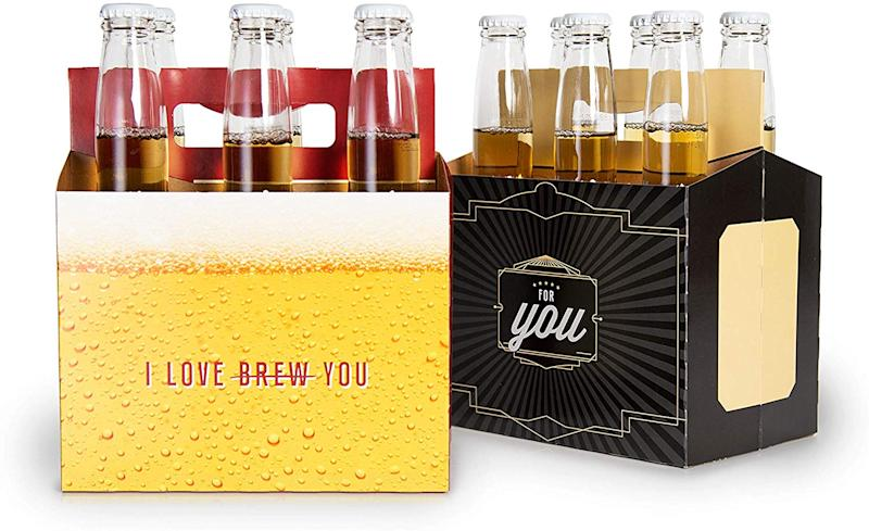 Brews for You Beer Carrier via Amazon
