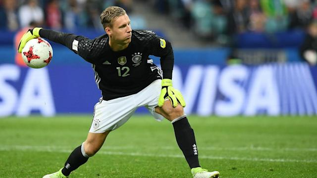Manuel Neuer's injury may have opened up a spot in the Germany squad for the Bayer Leverkusen goalkeeper, who is hoping he will be in Russia