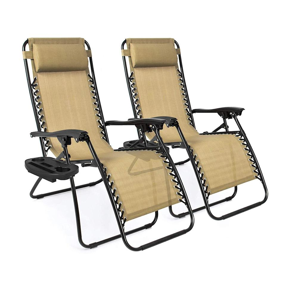 Zero Gravity Chair Set