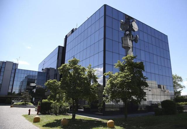 FILE PHOTO: Italian gas transport group Snam headquarters is seen in San Donato Milanese