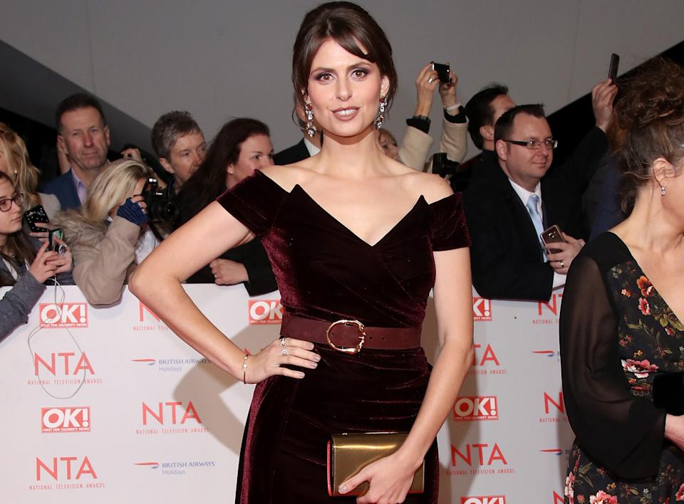 Ellie Taylor attends the National Television Awards 2018 at The O2 Arena on January 23, 2018 in London, England.