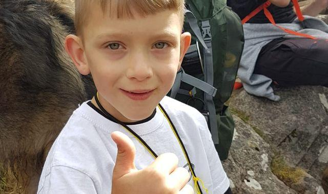 Boy, 7, climbs Ben Nevis after his parents were told he would never walk