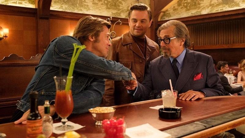 Al Pacino with DiCaprio and Pitt