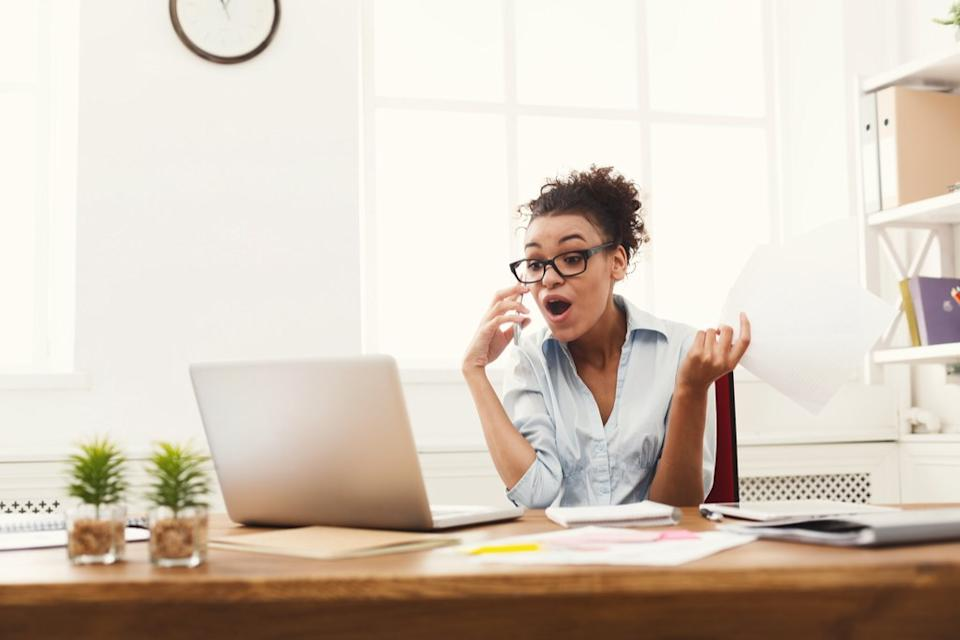 Angry Woman on Phone, things you shouldn't say to customer service reps