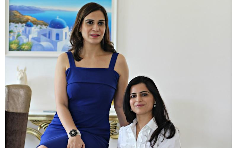 Mishi Mehta Sood and Tania Sondhi run a boutique matchmaking agency for prospective brides and grooms - Joe Wallen