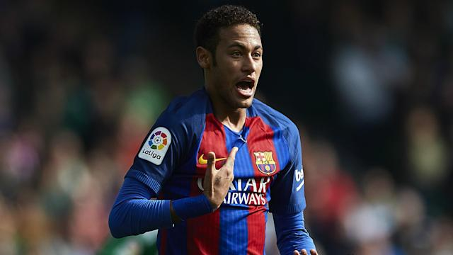 Neymar was heavily linked with Manchester United in the past and the forward has suggested that a move to England is possible.