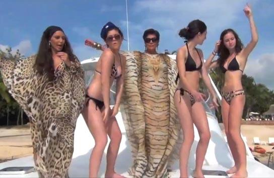 Kendall & Kylie Jenner's Most Inappropriate Bikini Video Yet