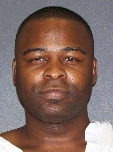 """A photo provided by the Texas Department of Criminal Justice shows Carroll Parr. Parr, 35, a Waco drug dealer who was known on the streets at """"Outlaw,"""" is set to die Tuesday evening for the 2003 robbery and fatal shooting of a man following a drug deal outside a convenience store. (AP Photo/Texas Department of Criminal Justice)"""