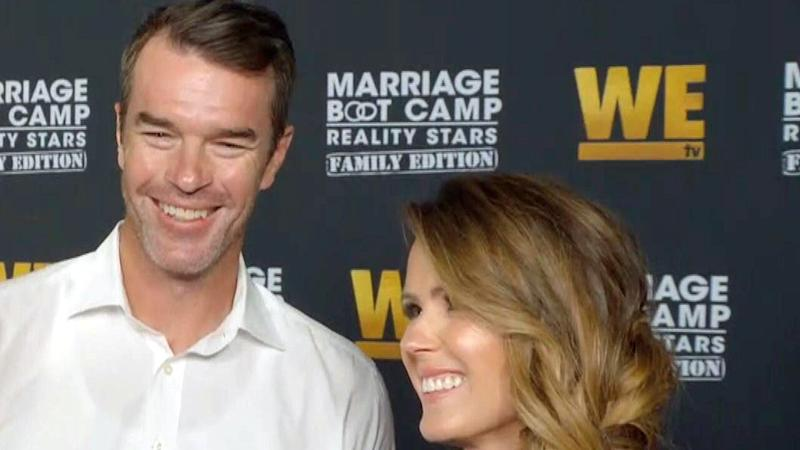 ET spoke with Trista and her husband, Ryan Sutter, at the 100th episode celebration for WE tv's 'Marriage Boot Camp.'