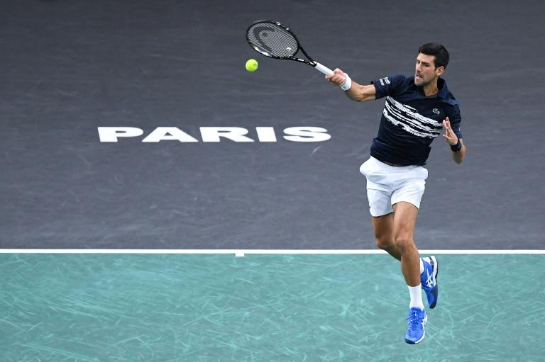 Brutal Djokovic sinks Greek young gun Tsitsipas at Paris Masters