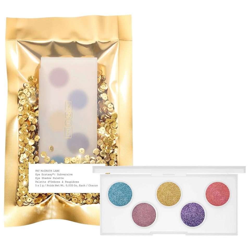 """<p>The <product href=""""https://www.sephora.com/product/eye-ecstasy-eye-shadow-palette-P448447?skuId=2262590&amp;icid2=products%20grid:p448447:product"""" target=""""_blank"""" class=""""ga-track"""" data-ga-category=""""internal click"""" data-ga-label=""""https://www.sephora.com/product/eye-ecstasy-eye-shadow-palette-P448447?skuId=2262590&amp;icid2=products%20grid:p448447:product"""" data-ga-action=""""body text link"""">Pat McGrath Labs Mini Eye Ecstasy: Eyeshadow Palette</product> ($14, originally $28) is an amazing deal if you want to try out a Pat McGrath palette without having to commit to a heafty price tag.</p>"""
