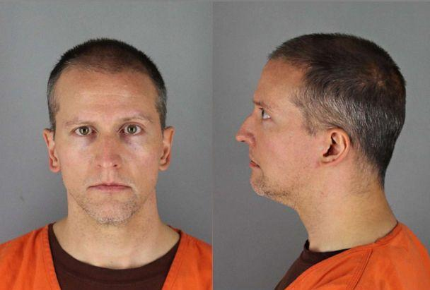 PHOTO: Former Minneapolis Police Officer Derek Chauvin is pictured in an undated booking photo released by the Hennepin County Sheriff's office. (Hennepin County Jail )