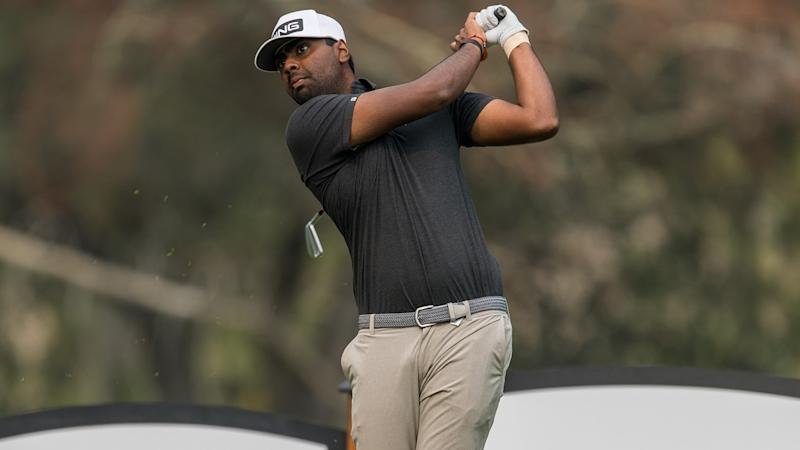 Feeling more comfortable on Tour, Sahith Theegala fires 64 at Safeway Open