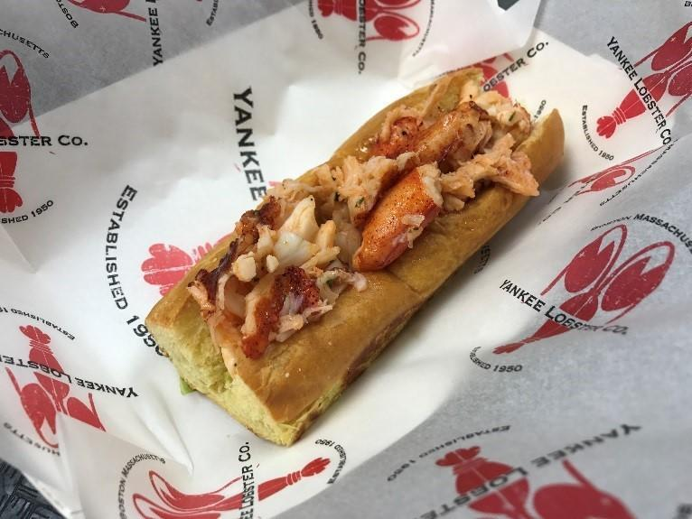 The Boston Red Sox's New England Lobster Rolls (MLB)