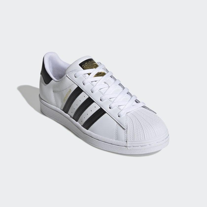 "<p><span>Adidas Superstar Shoes</span> ($85)</p> <p>""There isn't a week that goes by where I don't wear my Adidas Superstar Sneakers ($85) at least once, but usually twice. They go perfectly with everything in my closet - from jeans to sweatpants and even dresses - and they're so comfortable I can wear them from sun up until sun down without any problems."" - Jessica Harrington, associate editor, Beauty</p>"