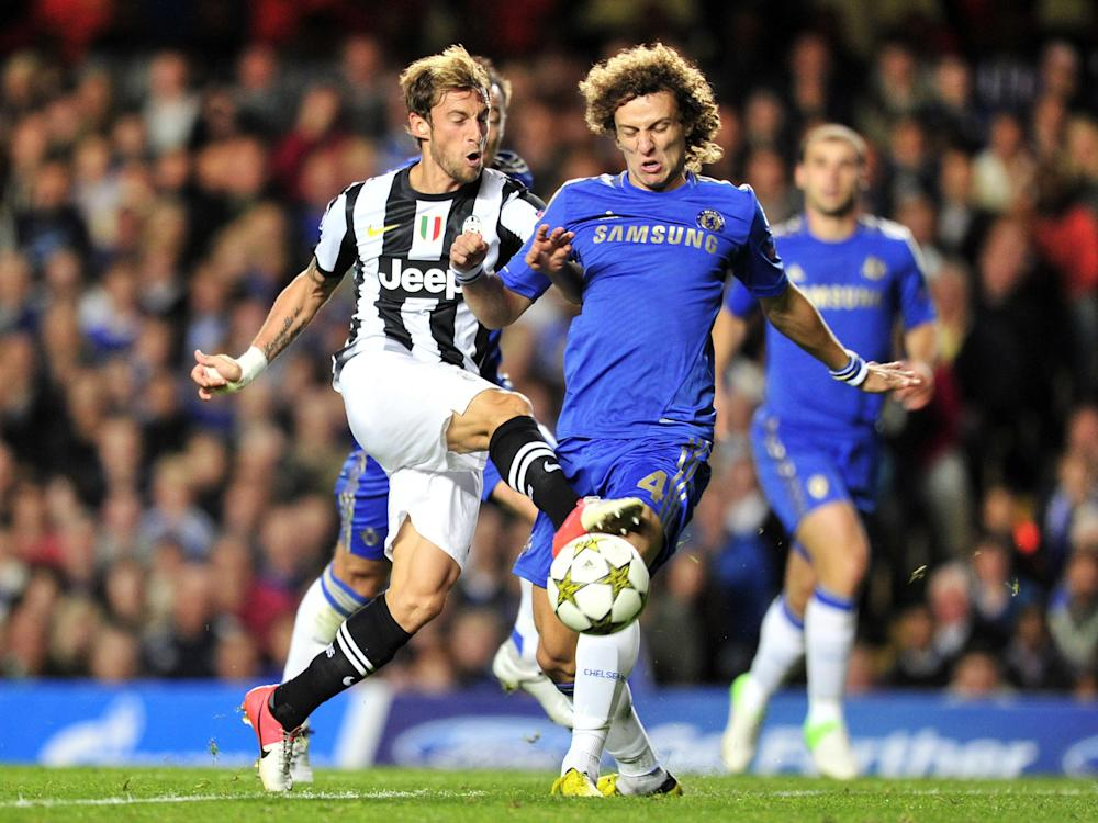 Claudio Marchisio in action against Chelsea in 2012: Getty