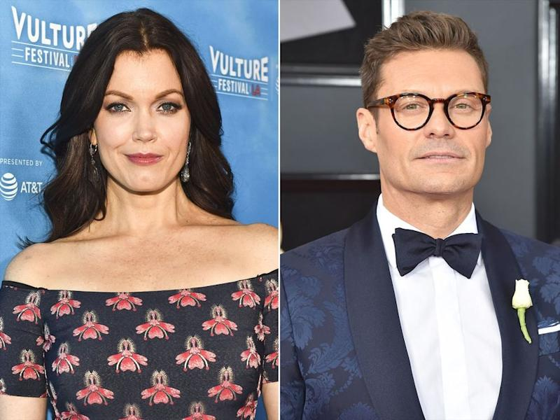 Bellamy Young and Ryan Seacrest